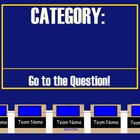 Smart Notebook Jeopardy Template