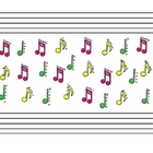 SmartBoard  Attendance- Music Notes