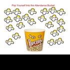 SmartBoard  Attendance- Popcorn