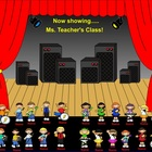 SmartBoard Attendance/Student Check-In Rock and Roll Kids Theme