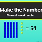 SmartBoard Center: Make the Number, Place Value with Tens