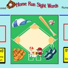SmartBoard Kindergarten Sight Word Baseball-First 100 Words