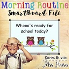 SmartBoard Morning Routine - Owl Theme