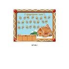 Smartboard Attendance File Gingerbread Theme with 3 progra