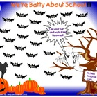 Smartboard Attendance-We&#039;re Batty About School-Halloween