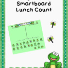 Smartboard Attendance or Lunch Count Frog Theme