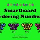 Smartboard Butterfly Ordering Numbers