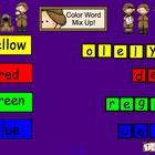 Smartboard Color Word Mix Up