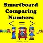 Smartboard Comparing Numbers Express