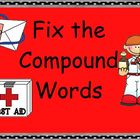Smartboard Compound Word Practice Second Grade Common Core