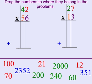 Smartboard Double Digit Multiplication Take 2