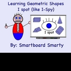 Smartboard Geometric Shapes Lesson I-Spot Review