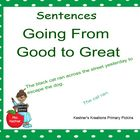 Smartboard Going From Good to Great Sentences 2-4