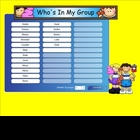 Smartboard Grouping Students Randomly