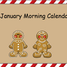 Smartboard January Calendar Activities