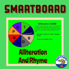 Smartboard Language Fun With Alliteration and Rhyme