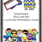 Smartboard Rock and Roll Lunch and Attendance Count