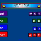 Smartboard Sight Word Mix Up