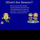 Smartboard Sorts Seasons Community Helpers