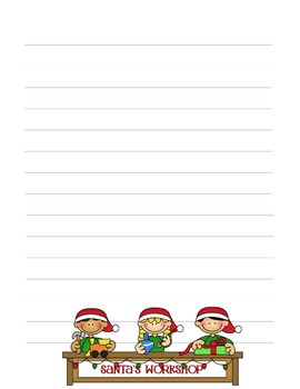 Smartboard Story Writing Activity Christmas Theme
