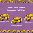 Smartboard Treasures 2nd Grade 1.1 David's New Friends Voc