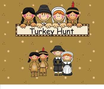 Smartboard Turkey Hunt Game