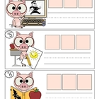 Smarty Pants Pigs CVC Word Building Activity
