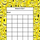 Smiley Face Incentive Reward Chart