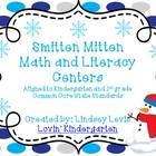Smitten Mitten - Math and Literacy Centers{BUNDLED} Common