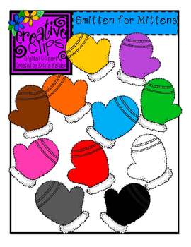 Smitten for Mittens {Creative Clips Digital Clipart}