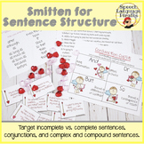 Smitten for Sentence Structure