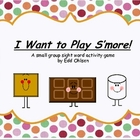 S&#039;mores Sight Words Game /  CVC Word Game for Small Group 