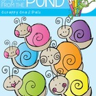 Snail Days - FREE Clipart - Graphics From the Pond