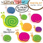 Snail Set: Clip Art Graphics for Teachers