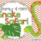 Snake Safari Math and Literacy Centers and More!