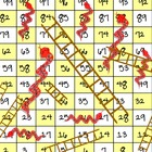 Snakes and Ladders Customizable Review Game Board