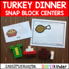 Snap Cube Center - Thanksgiving Freebie {Simply Kinder}