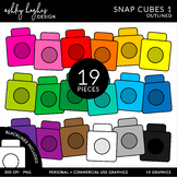 Snap Cubes {Graphics for Commercial Use}