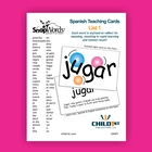 SnapWords Spanish Teaching Cards List 1