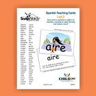 SnapWords Spanish Teaching Cards List 2