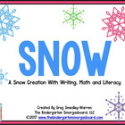 Snow!  A Common Core Aligned Unit!