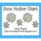 Snow Anchor Chart