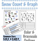 Snow Count &amp; Graph  - Common Core Measurement &amp; Data