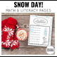Snow Day! Activity Pages Mini-Freebie
