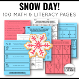 Snow Day! Activity Pages