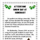 Snow Day Annoucement to Parents