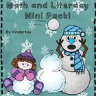 Snow Day Fun Literacy and Math Mini Pack