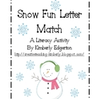 Snow Fun Letter Match