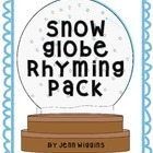 Snow Globe Rhyming Pack