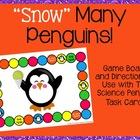 """Snow"" Many Penguins Game Board"